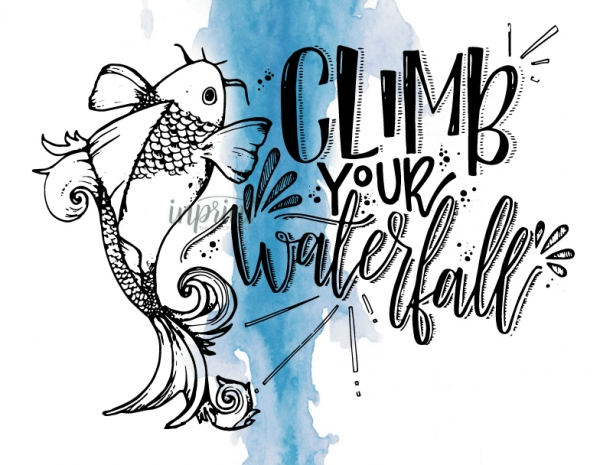 climb your waterfall