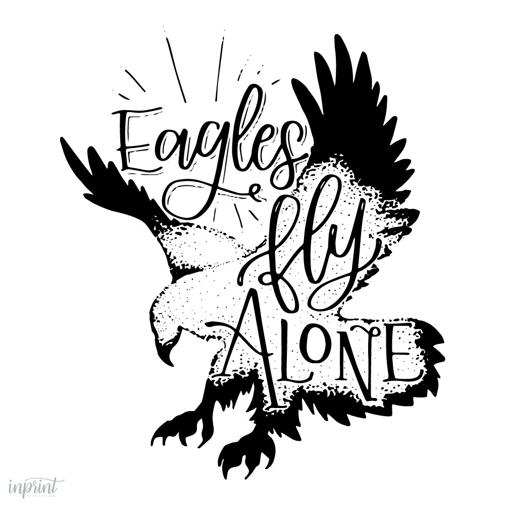 eagle drawing print that is downloadable instant pdf printable