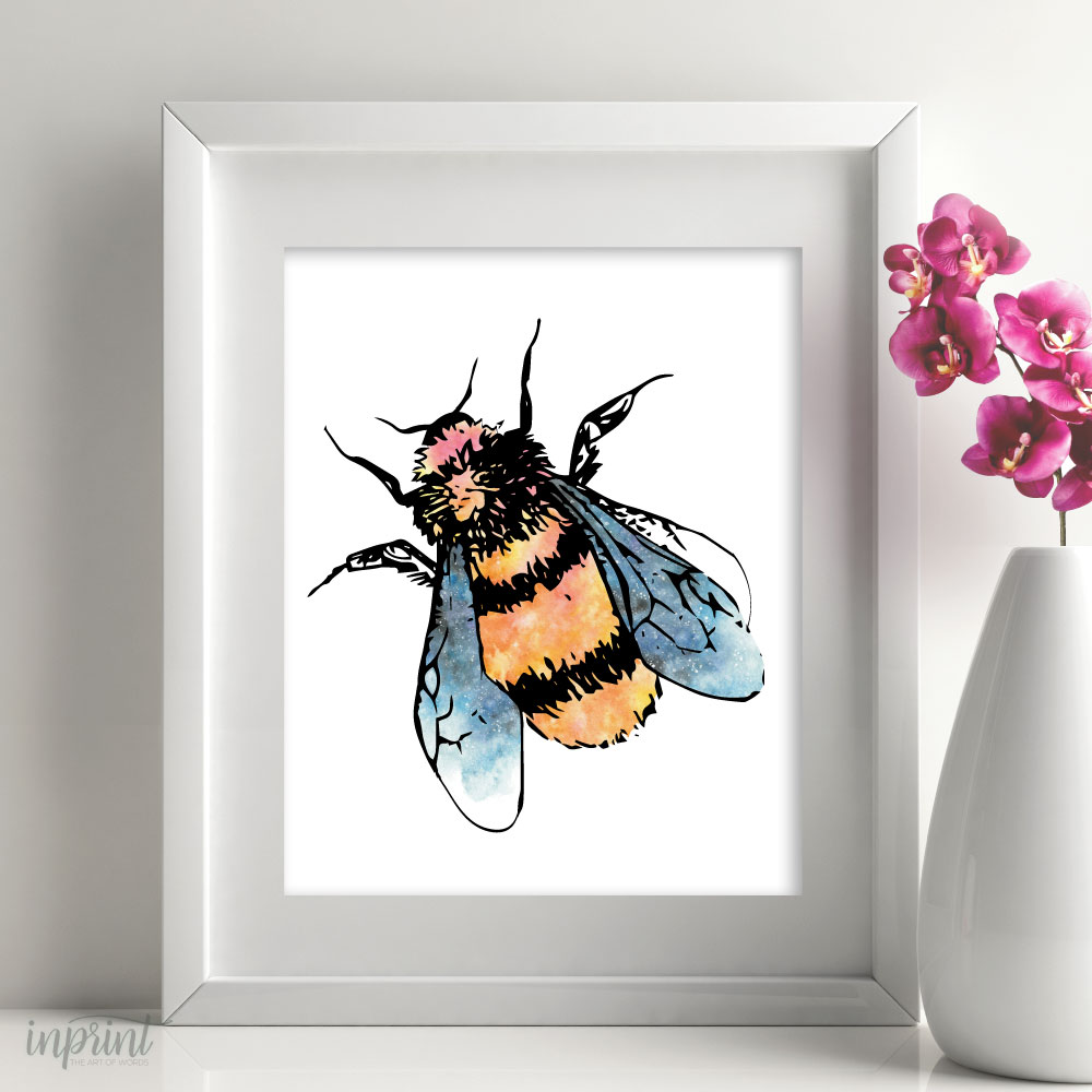 Bee Art Printable