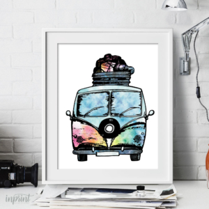 VW Van Print