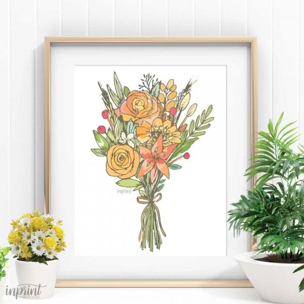 Flower Bouquet Printable